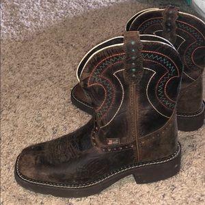 women justin boots